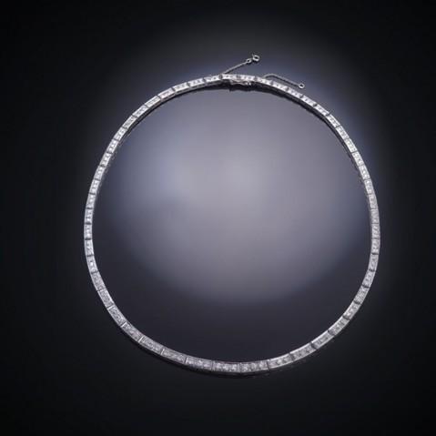 Collier diamants (vers 1950 – 1960)