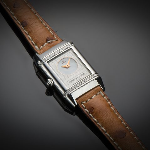 Montre Jaeger-LeCoultre Reverso Duetto diamants
