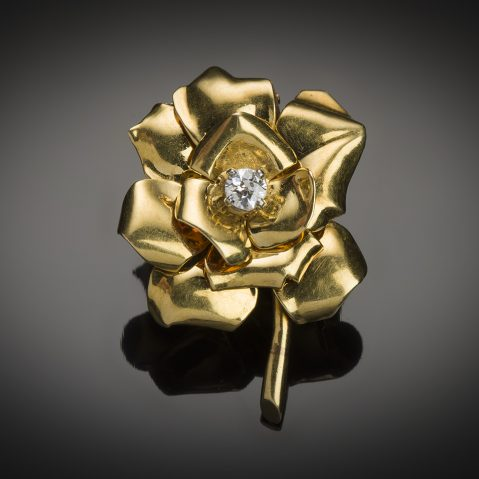 Broche Cartier vers 1950