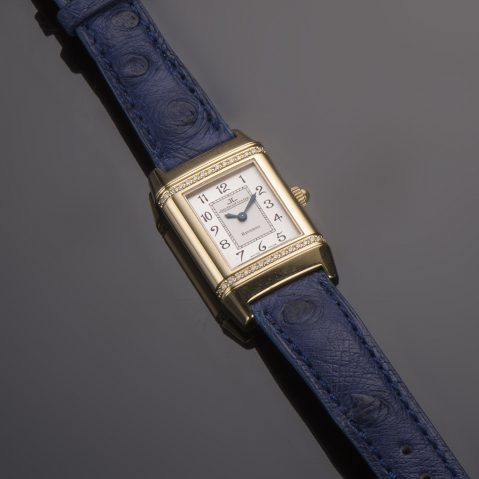 Montre Jaeger-LeCoultre Reverso Lady diamants or