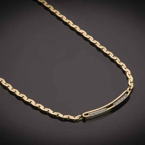 Collier diamants Fred