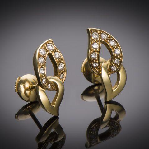 Boucles d'oreilles Piaget diamants
