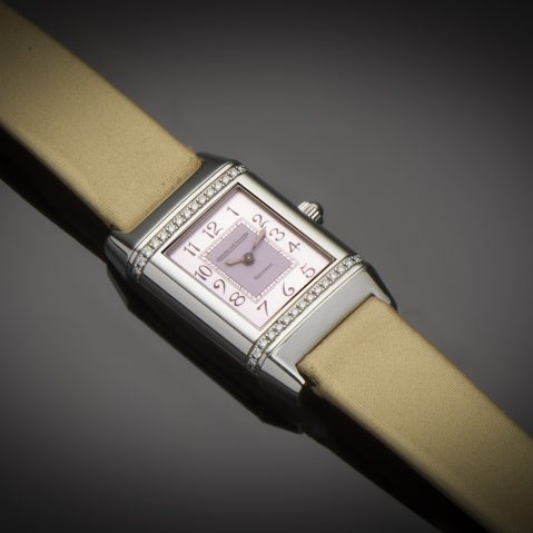 Montre Jaeger-LeCoultre Reverso diamants