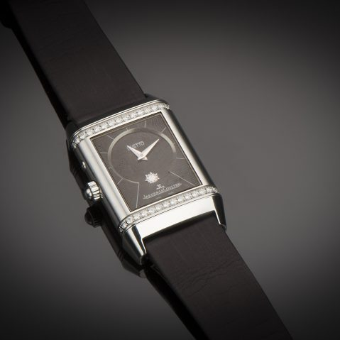 Montre Jaeger-LeCoultre Reverso medium Duetto diamants phase de lune