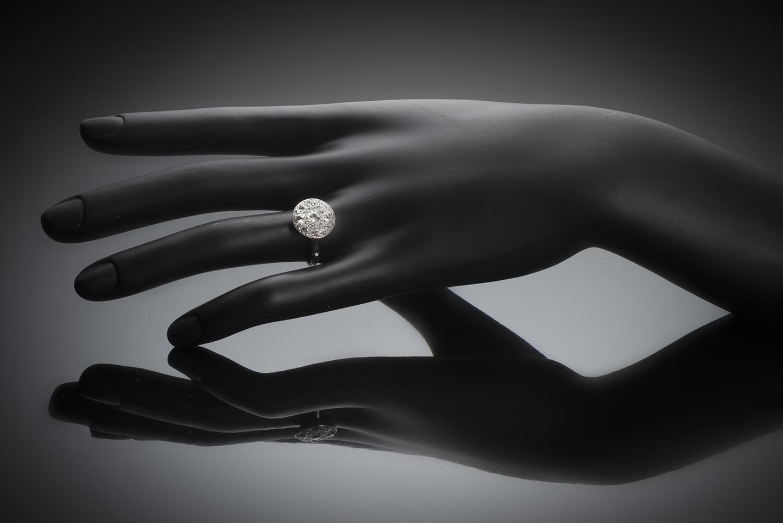 Bague diamants Art Déco-3