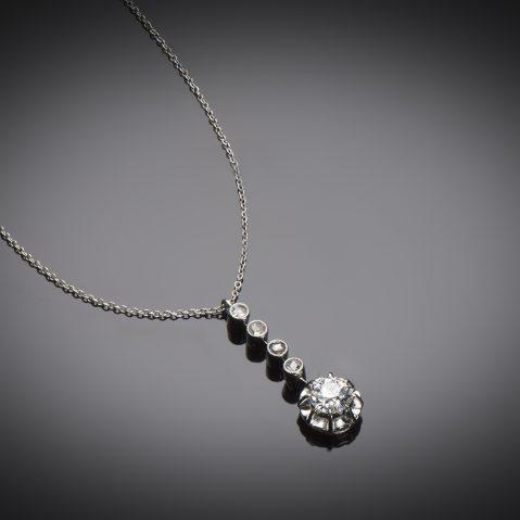 Collier diamants Art Déco (vers 1930)