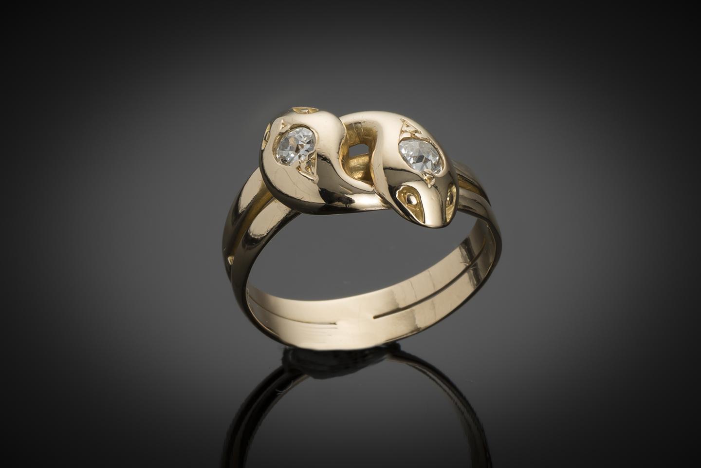 Bague fin XIXe siècle diamants-1