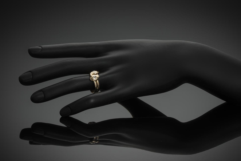 Bague fin XIXe siècle diamants-2