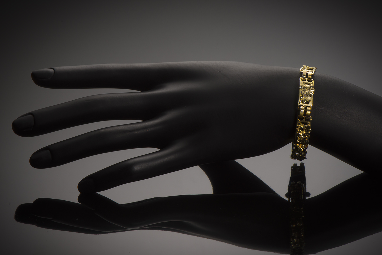 Bracelet Art nouveau (vers 1900)-2