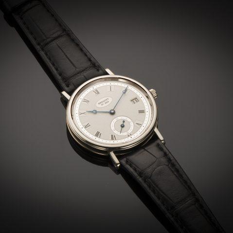Montre Breguet classique date or gris
