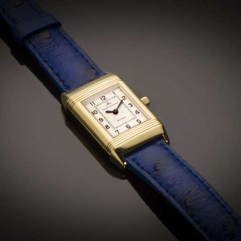 Jaeger LeCoultre Reverso Lady gold watch