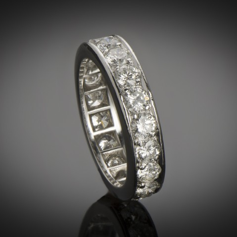Platinum diamond alliance (2.60 carats)