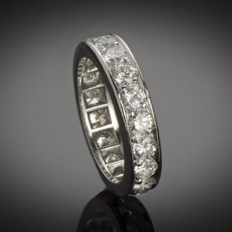 Platinum diamond alliance (2.60 carats)