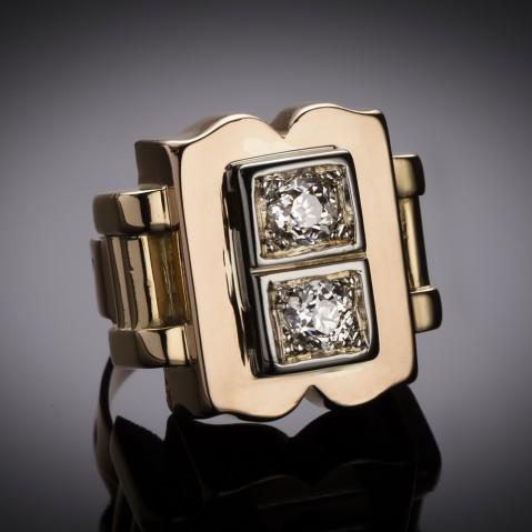 Jean Després diamond ring