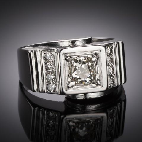 Modernist ring circa 1935