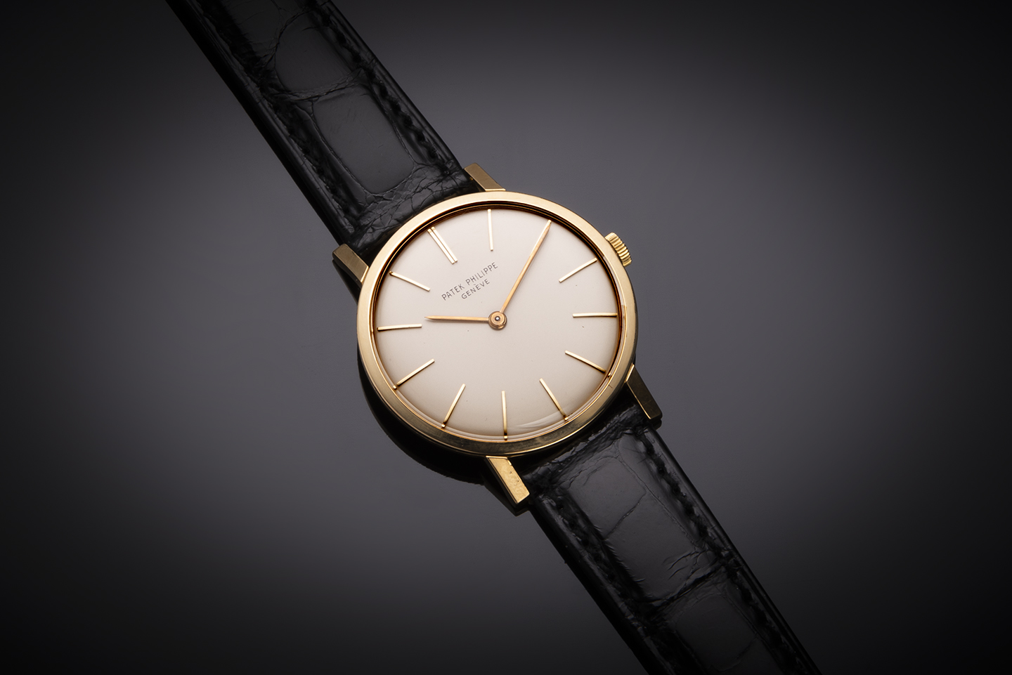 Patek Philippe watch circa 1965 (with extract from the registers)-1