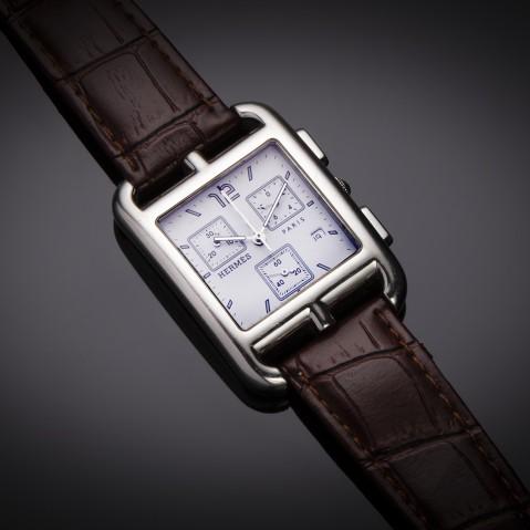 Hermès Cape Cod chronograph watch