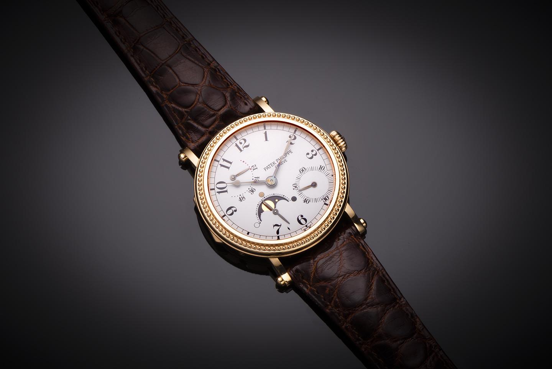 Patek Philippe complications rose gold watch (full set)-1