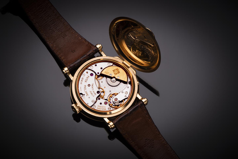 Patek Philippe complications rose gold watch (full set)-2