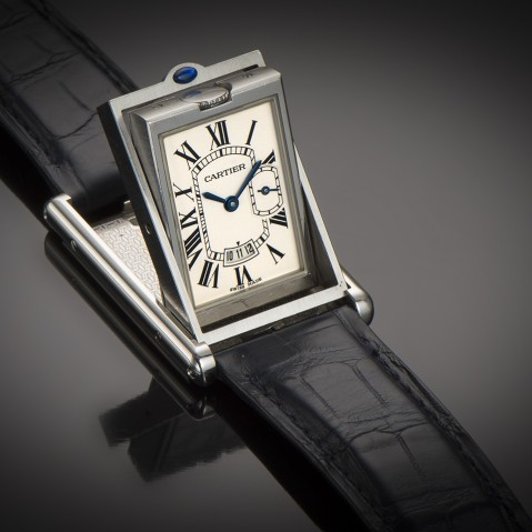 Cartier basculante watch XL