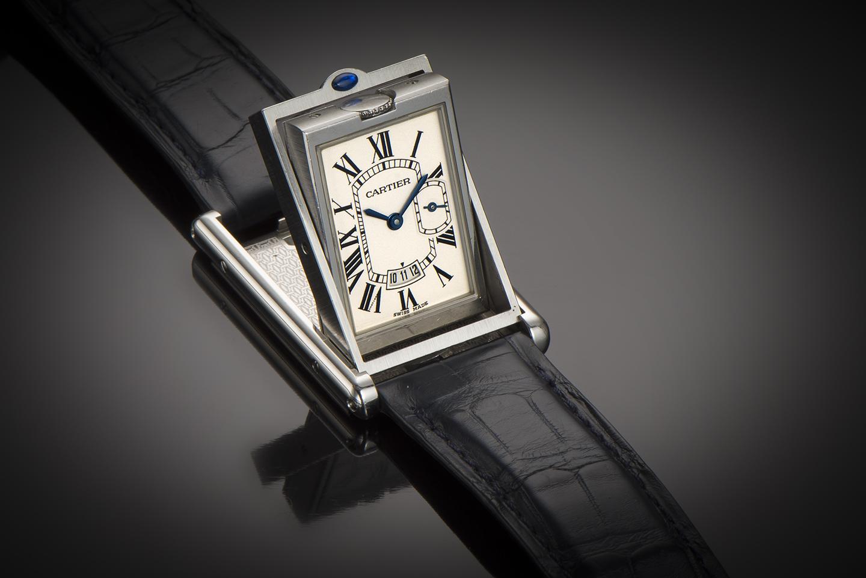 Cartier basculante watch XL-1