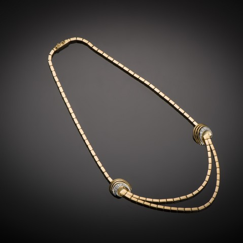 Diamond necklace circa 1940