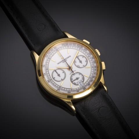 Vacheron Constantin chronograph gold watch