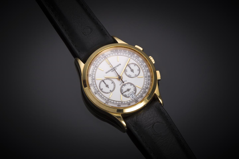 Vacheron Constantin chronograph gold watch-1