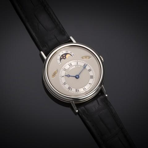 Breguet watch with platinum complications