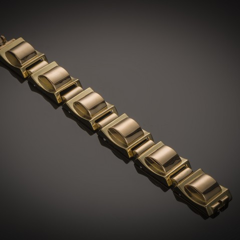 «Tank» bracelet around 1940