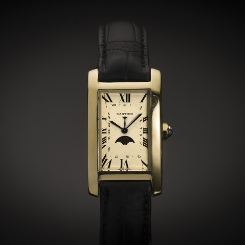 Cartier Tank Américaine watch complications