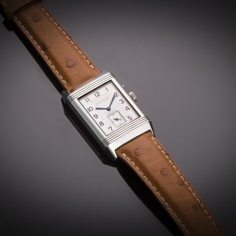 Jaeger LeCoultre Reverso Duoface Night & Day watch