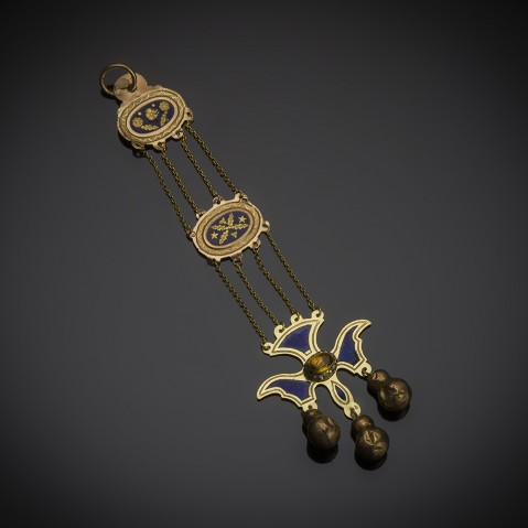 French pendant early 19th century
