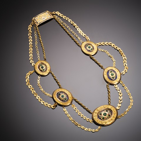 French necklace, early 19th century