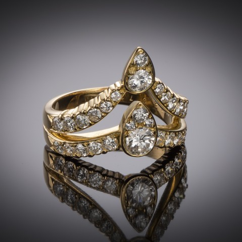 Van Cleef & Arpels vintage diamond ring
