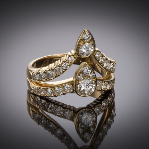 Van Cleef & Arpels vintage diamond ring