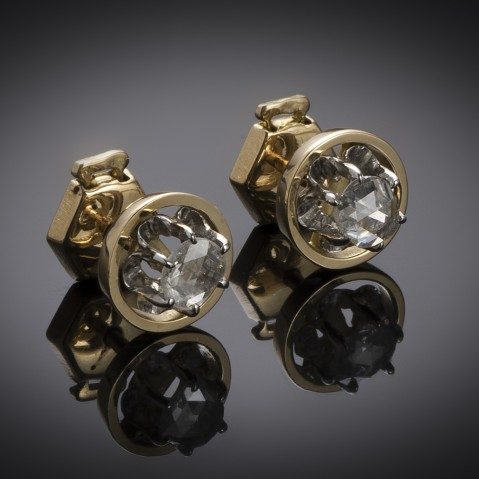 Diamond earrings circa 1920