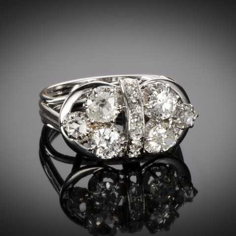 Diamond ring circa 1950