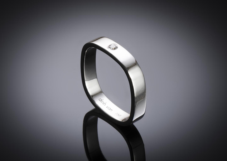 Dinh Van diamond ring-1