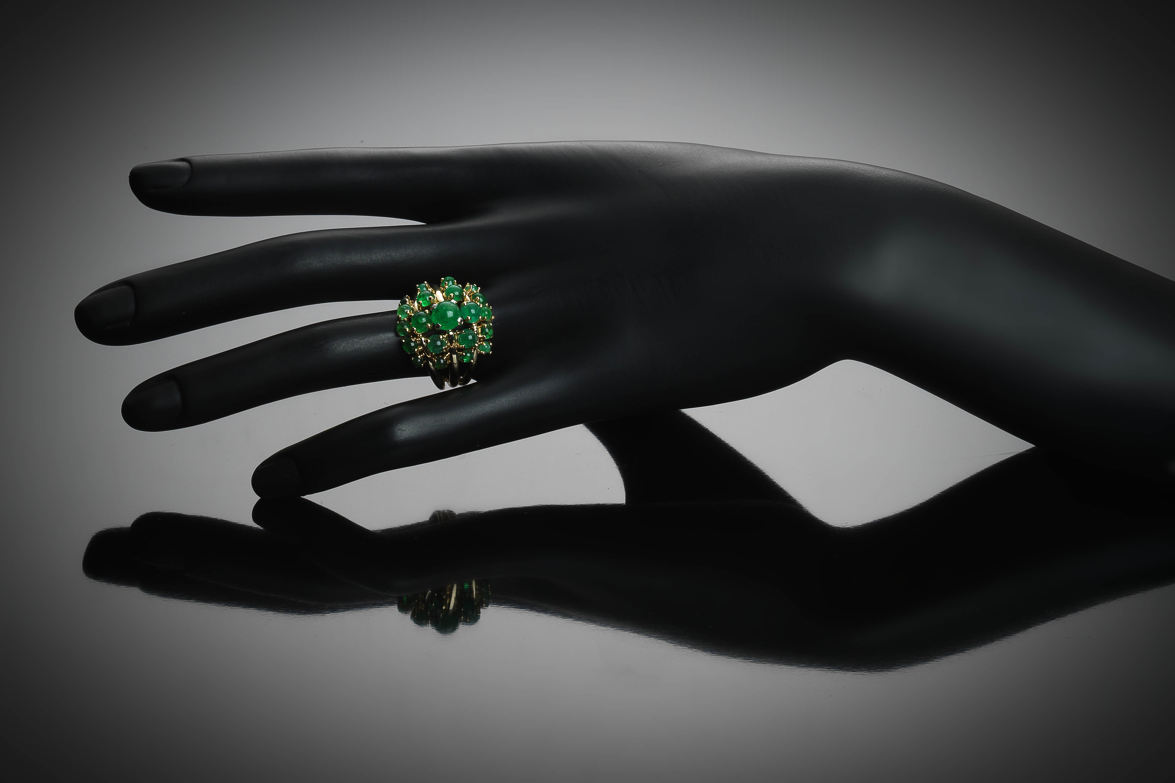 Jean Fouquet emerald ring circa 1960-2