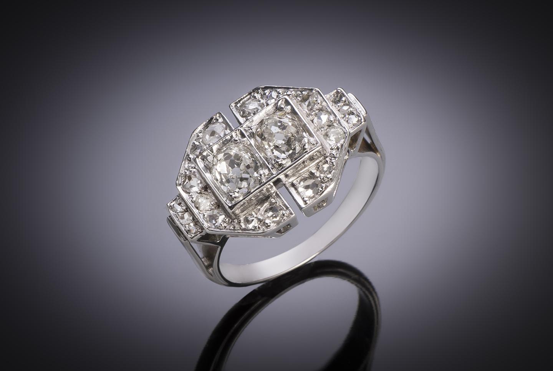 French Art Déco diamond ring-1