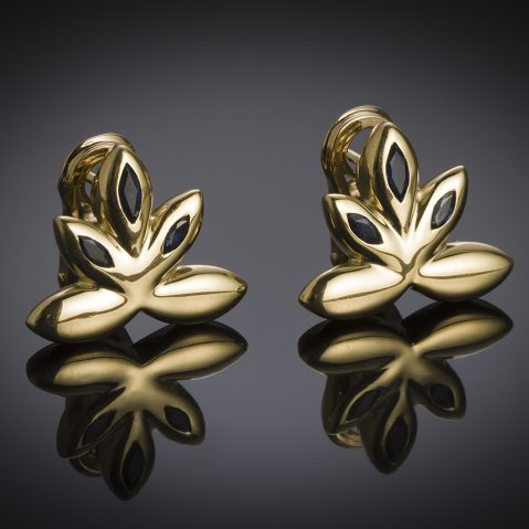 Chaumet sapphire earrings