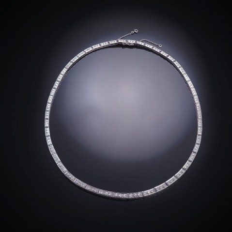 Collier diamants (vers 1950 – 1960)