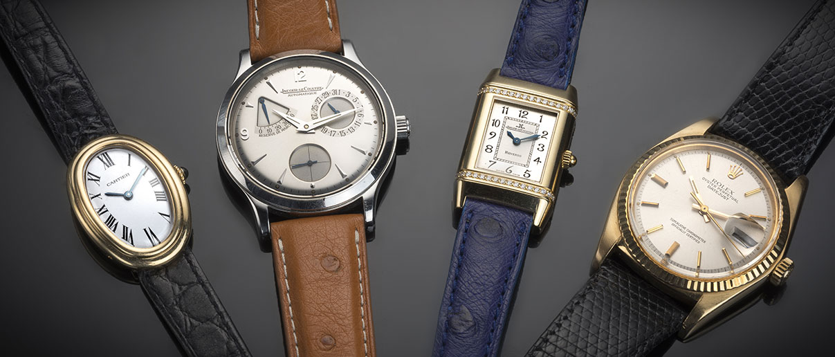 Montres de collection des plus grandes manufactures