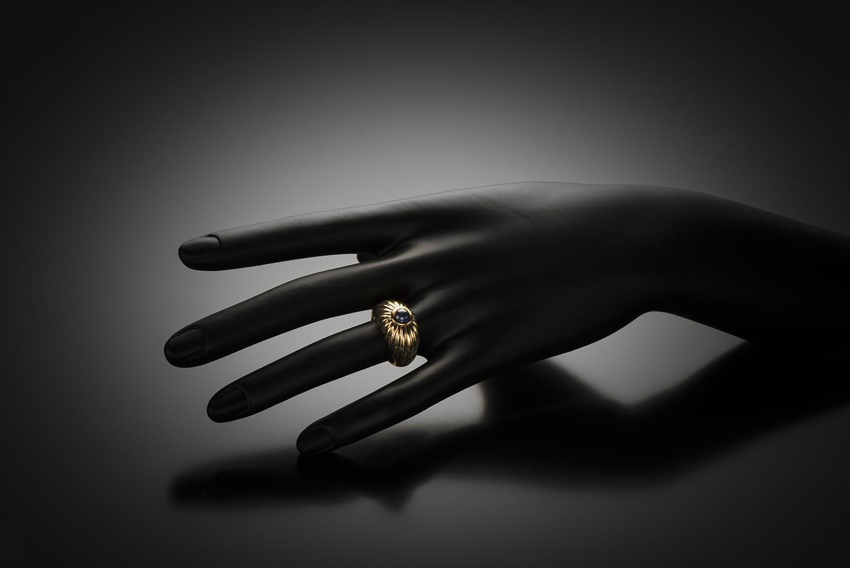 Bague Cartier saphir-2