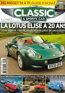 Classic & Sports Car juin 2016 Couverture