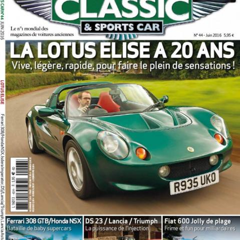 Retrouvez-nous ce mois dans le magazine Classic & Sports Car