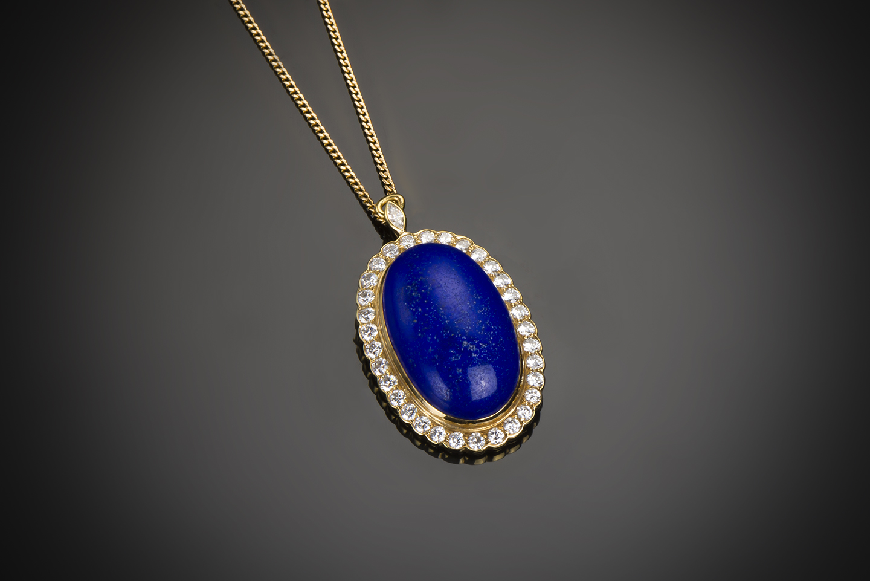 Pendentif lapis-lazuli Mellerio dits Meller-1