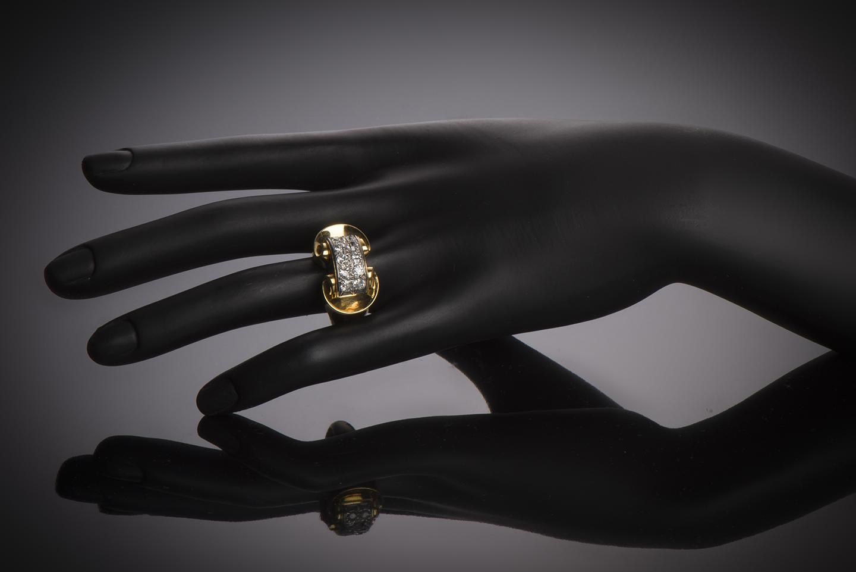 Bague diamants vers 1940-2