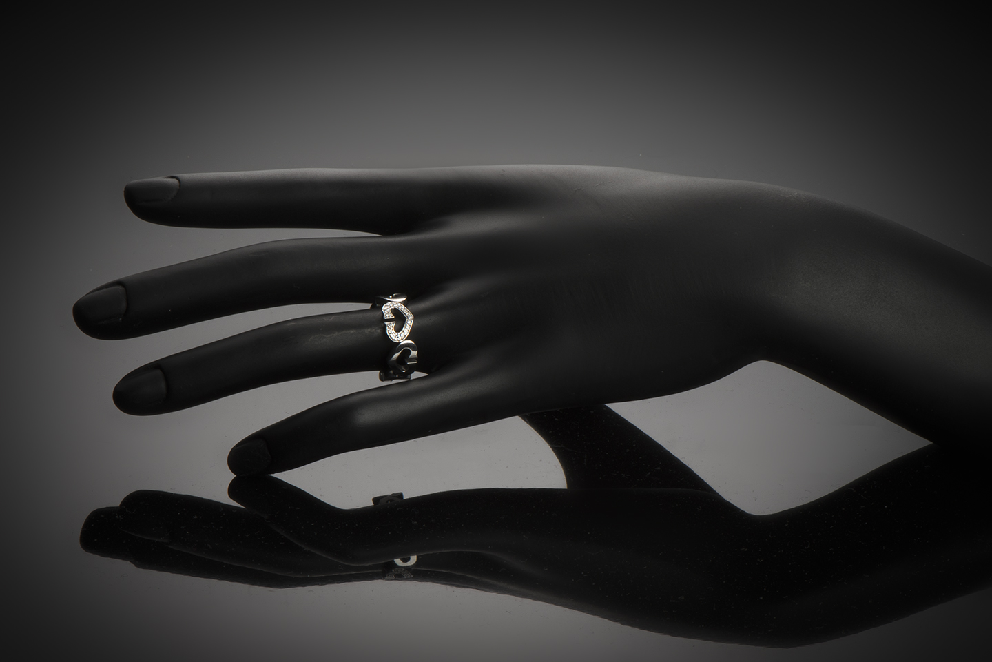 Bague Cartier diamants-2